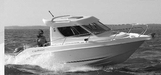 bateau 7m50